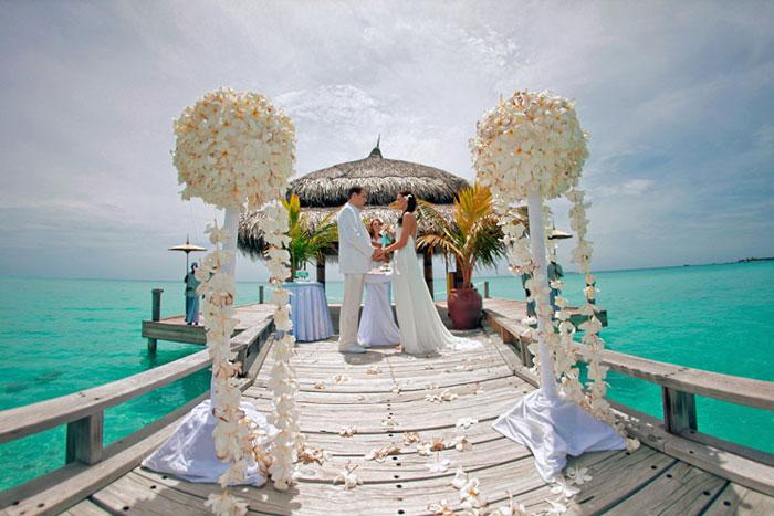 Свадьба на островах: Сейшелы, Мальдивы, Маврикий, Бали Свадебная церемония